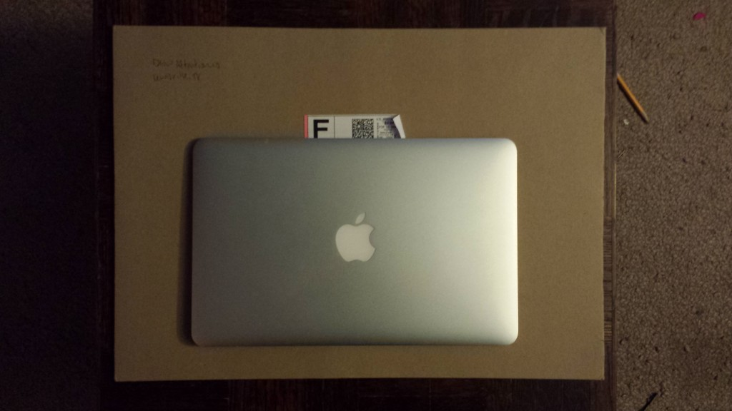 This envelope is much larger than my MacBook Air.