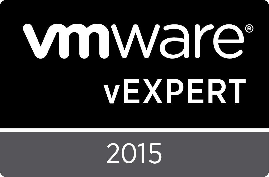VMware vExpert 2012-15