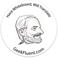 GeekFluent Sticker
