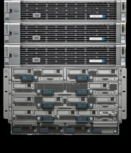 HX240x + B200 hybrid cluster