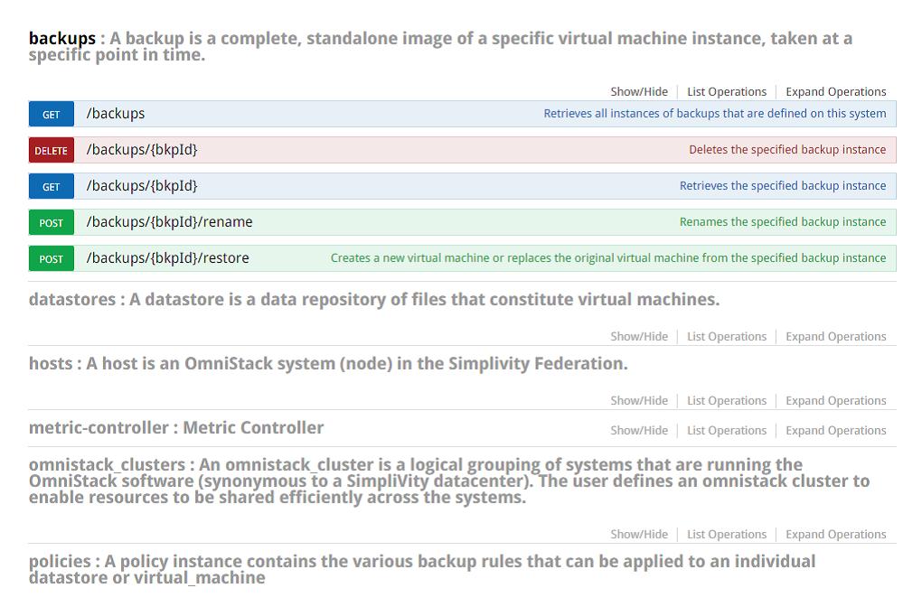 OmniStack 3.5 API