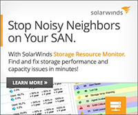 SolarWinds Storage Resource Monitor