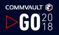 Commvault GO 2018