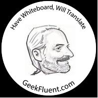 GeekFluent Sticker